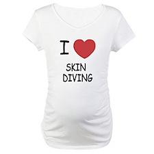 I heart skin diving Shirt