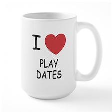 I heart play dates Mug