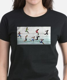 Funny Running in the usa race results clubs Tee