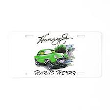 Hanas Aluminum License Plate