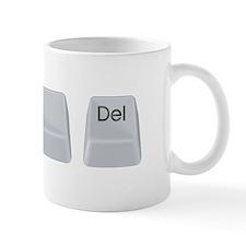 Control Alt Delete Small Mugs