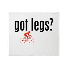 Legs Throw Blanket