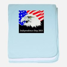 Independence Day 2012 baby blanket