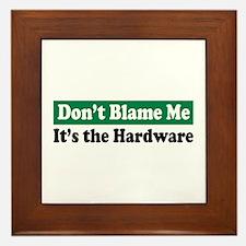 It's the Hardware Framed Tile