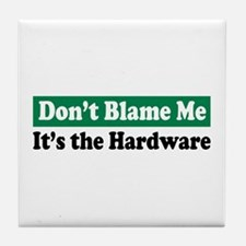 It's the Hardware Tile Coaster