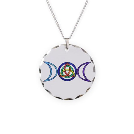 Balanced Necklace Circle Charm