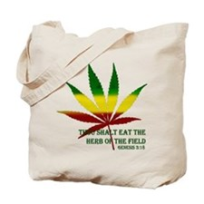 Rastafarian Lion Tote Bag