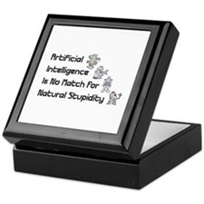 Artificial Intelligence Keepsake Box