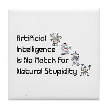 Artificial Intelligence Tile Coaster