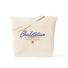 Charlottetown Script Tote Bag