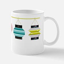Hanging Lanterns Small Small Mug