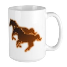 Two Horses Mug