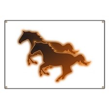 Two Horses Banner