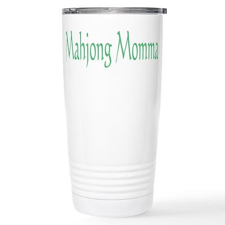 Mahjong Momma Stainless Steel Travel Mug