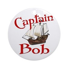 Captain Bob's Ornament (Round)