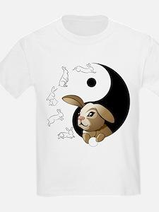 Bunny Principles Yin Yang T-Shirt