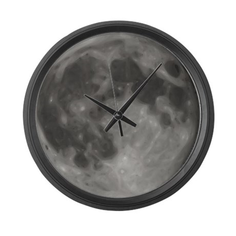Luna - Full Moon Large Wall Clock