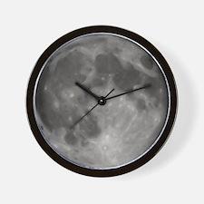 Luna - Full Moon Wall Clock