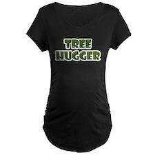 Tree Hugger : Green Leaf T-Shirt