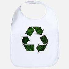 Leaf Recycle Symbol Bib