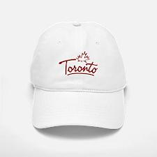 Toronto Leaf Script Baseball Baseball Cap