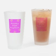 Pretty Pink Pugilist Cancer Survivor Pint Glass