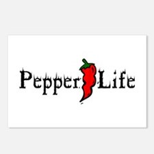 Pepper Life Postcards (Package of 8)