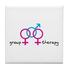 Group Therapy GBG Tile Coaster