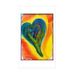 Bright Valentine Sticker (Rectangle 10 pk)