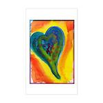 Bright Valentine Sticker (Rectangle)