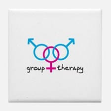 Group Therapy BGB Tile Coaster