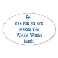 Eye for an Eye Decal