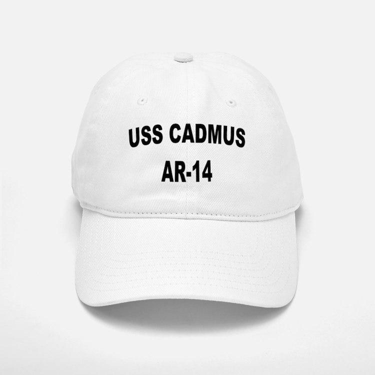 USS CADMUS Baseball Baseball Cap