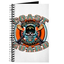 US Coast Guard Skull M-4s Journal