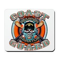 US Coast Guard Skull M-4s Mousepad