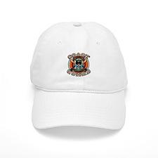 US Coast Guard Skull M-4s Baseball Cap