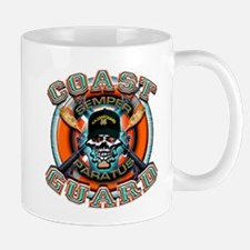 US Coast Guard Skull M-4s Mug