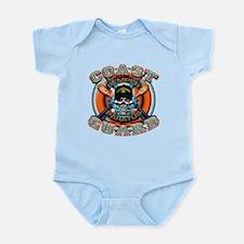 US Coast Guard Skull M-4s Infant Bodysuit