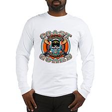 US Coast Guard Skull M-4s Long Sleeve T-Shirt