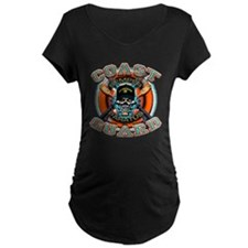 US Coast Guard Skull M-4s T-Shirt