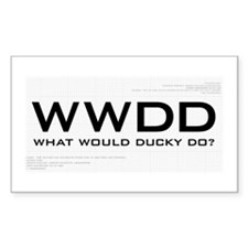 What Would Ducky Do? Decal