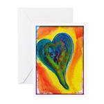Bright Valentine Greeting Card