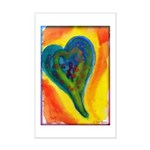 Bright Valentine Mini Poster Print