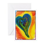 Bright Valentine Greeting Cards (Pk of 10)