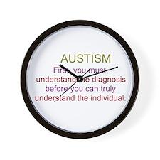 Cute Learning disability Wall Clock