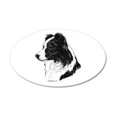 Border Collie Wall Decal