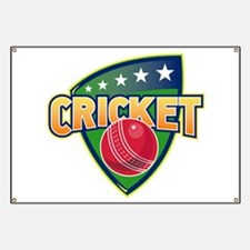 cricket ball shield Banner