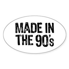 Made In The 90's Decal