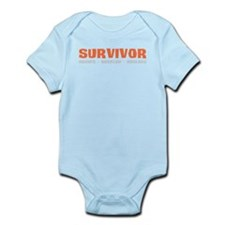 Survivor Outwit, Outplay, Out Infant Bodysuit