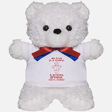 Bacon Temple Teddy Bear